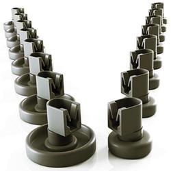 Универсальные корзины в рулонах для многих обычных посудомоечных машин и посудомоечных машин в качестве запасных частей и аксессуаров