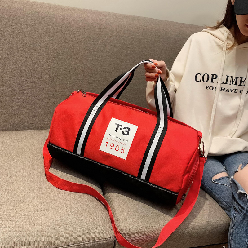 Male Travelling Bags Dry And Wet Separation Woman Portable Tote Bag Male Single Shoulder Bags A Short Trip Travelling Bag in Travel Bags from Luggage Bags