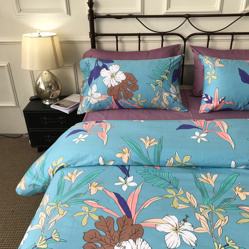 Nordic Cotton Twill Printed Family of Four 13372 Combed Cotton Enterprises Flower Family of Four 18 M FlowersNordic Cotton Twill Printed Family of Four 13372 Combed Cotton Enterprises Flower Family of Four 18 M Flowers