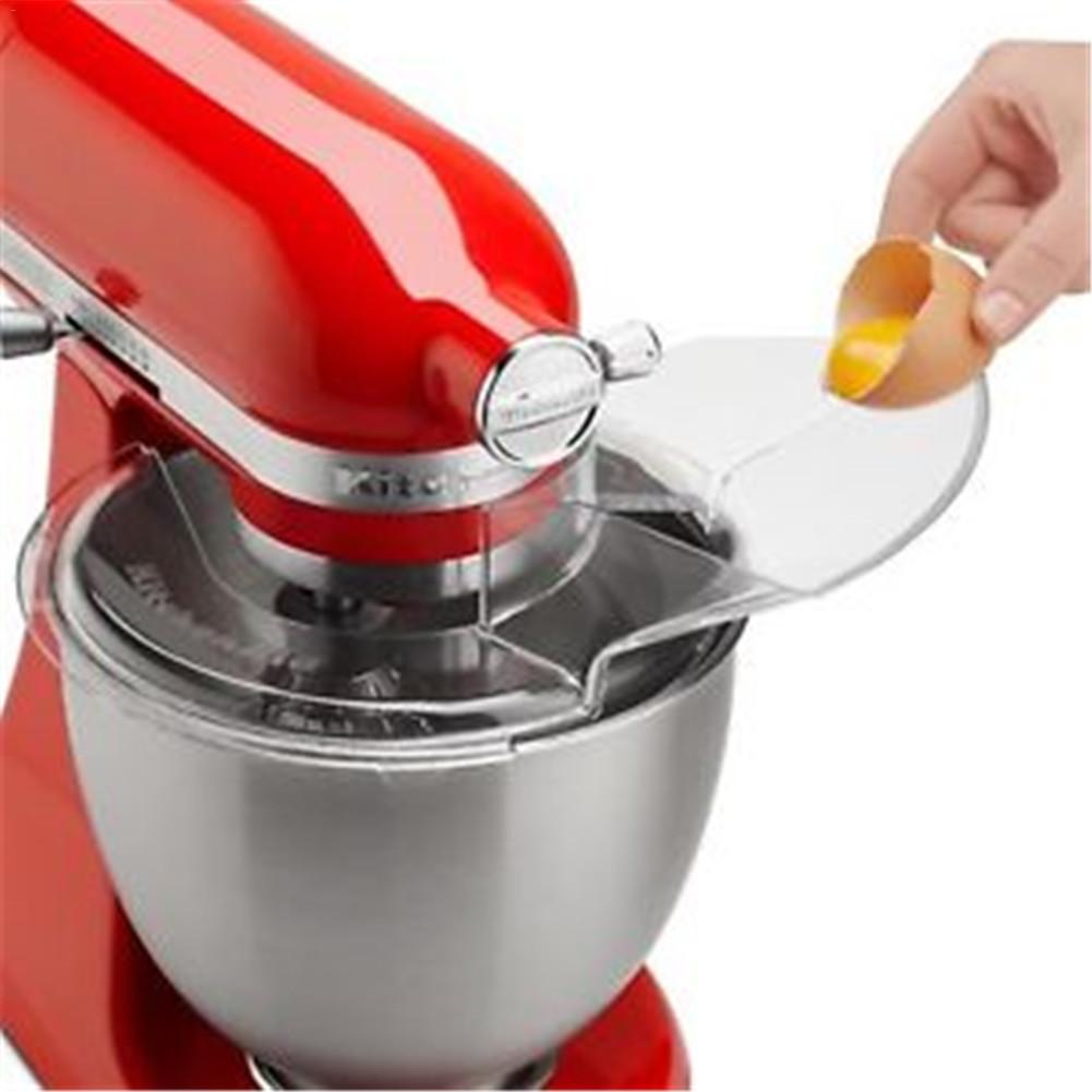 Couvercle de mélangeur de pièces de tête d'inclinaison de bouclier de versement de cuvette de 4.5-5QT pour le mélangeur de support d'aide de cuisine W10616906-KN1PS