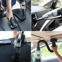 Autos Vacuum Cleaner 120W Portable Handheld Wireless Car Wet And Dry Dual Use Car Cleaning Tools