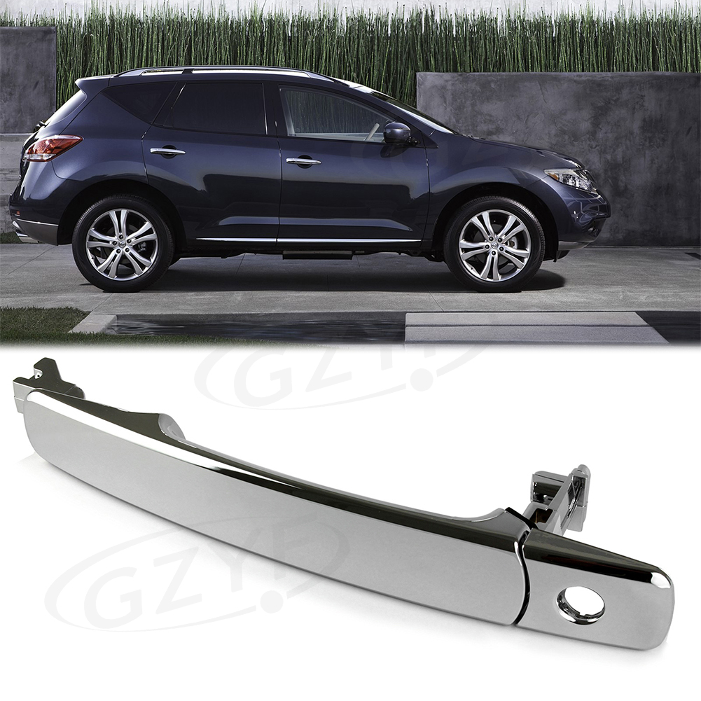 Chrome Front Left Driver Side Outside Exterior Door Handle for Infiniti FX35 FX45 & For Nissan Murano Rogue|Exterior Door Handles|   -