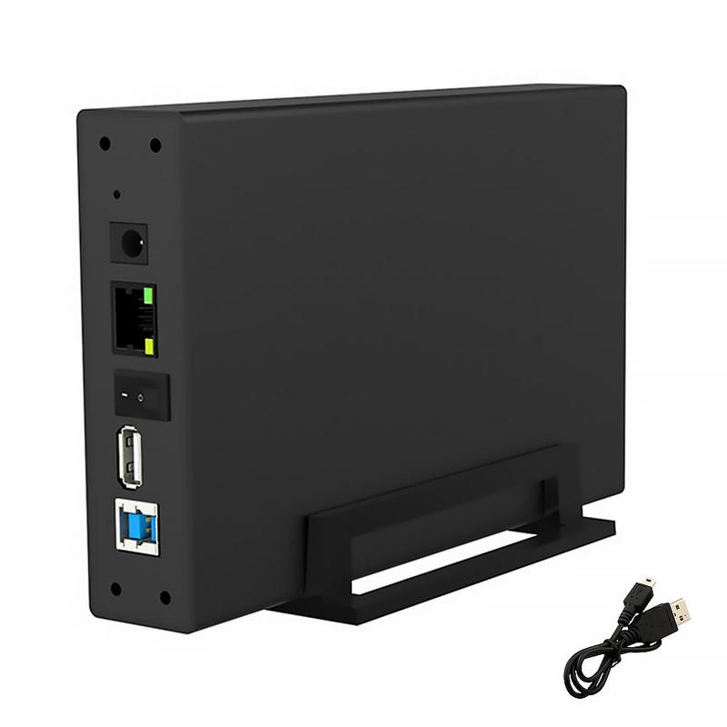 Solid-State-Drive Enclosure Network-Storage NAS Cloud-Disk USB3.0 10TB External Wireless title=