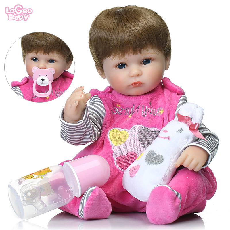 Logeo bébé offre spéciale réaliste Reborn bébé poupées 17