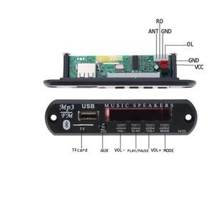 Image 2 - Kebidu Bluetooth 5V 12V MP3 WMA Xe Bộ MP3 Người Chơi Bộ Giải Mã Ban Đài FM TF USB AUX 3.5 Mm Bộ Thu Âm Thanh