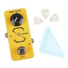 цена на Mini Electric Guitar Effect Pedal Processor Guitarra Looper True Bypass High Quality Single Effect for Guitar Parts Accessories