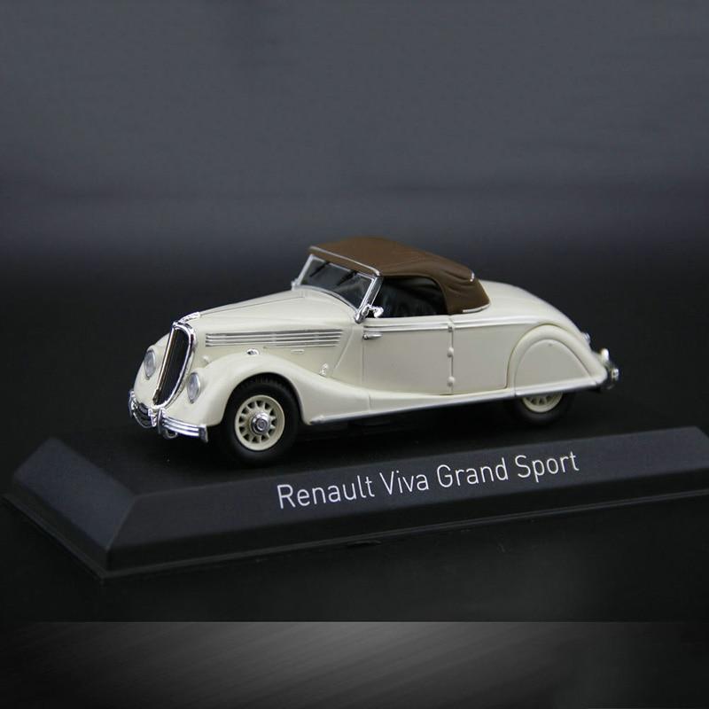 1:43 Renault Viva Grand Sport Vintage Diecast Model Collection Replica Car Toys