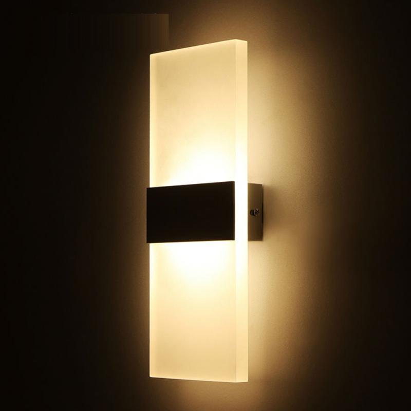 illuminazio Moderna applique da parete minimalista comodino ...