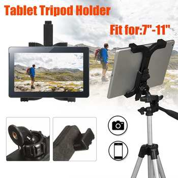 ABS Self-Stick Tripod Stand Holder for iPad Mini Adjustable Tablet Laptop Bracket Stand Cradle Tripod For Samsung Camera Mount