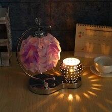 Exquisite Energy Flower Shaped Desk Aroma Lamp