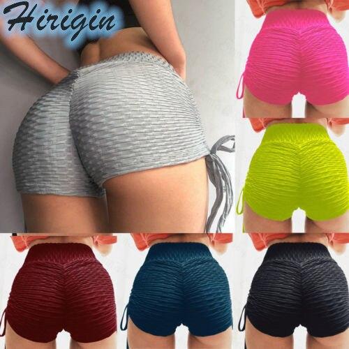 Summer Women Shorts New Casual Womens Summer High Waist Stretch Solid Shorts Hot Shorts Casual Sports Shorts