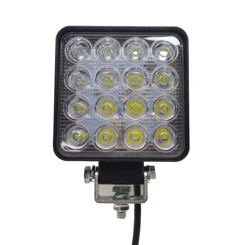 Лампа Светодиодная рабочая водонепроницаемая, 48 Вт