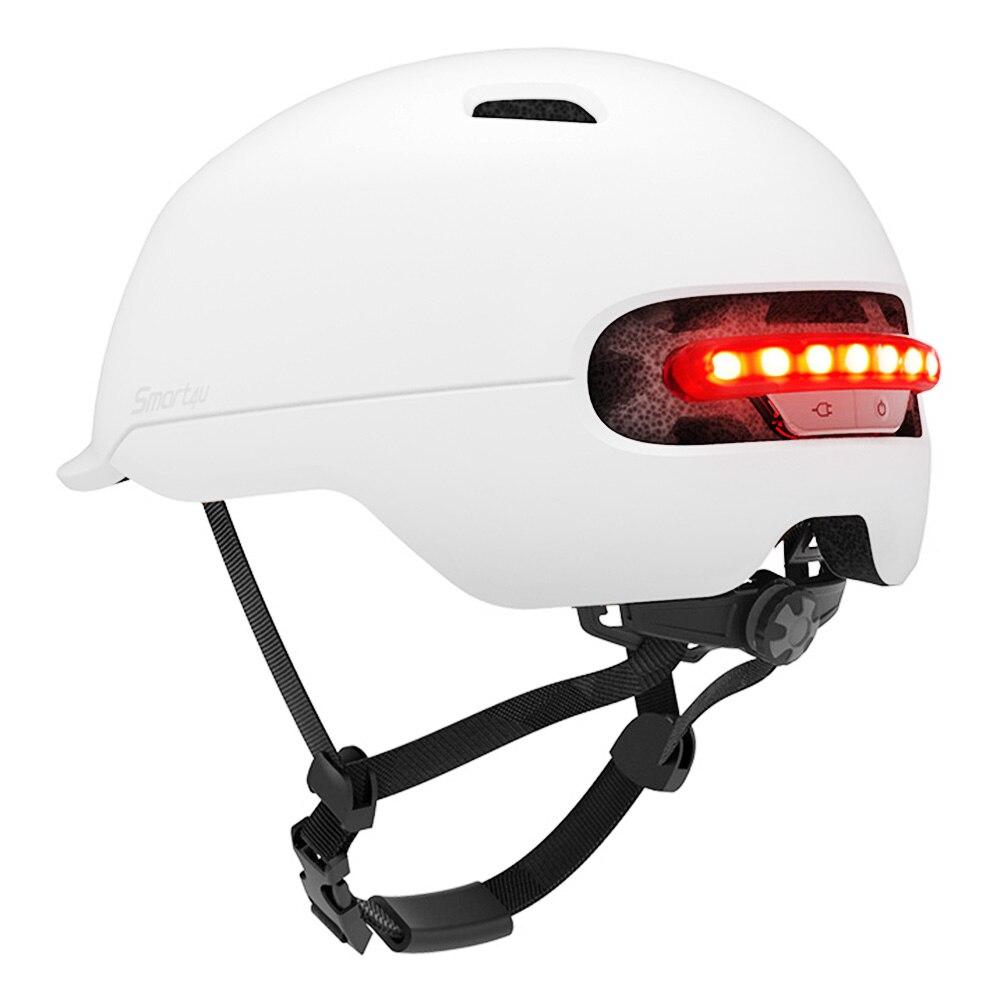 100% QualitäT Xiaomi Smart4u Sh50 Radfahren Helm Intelligente Zurück Led Licht Wasserdicht Bike Roller Fahrrad Helme Für Outdoor Radfahren