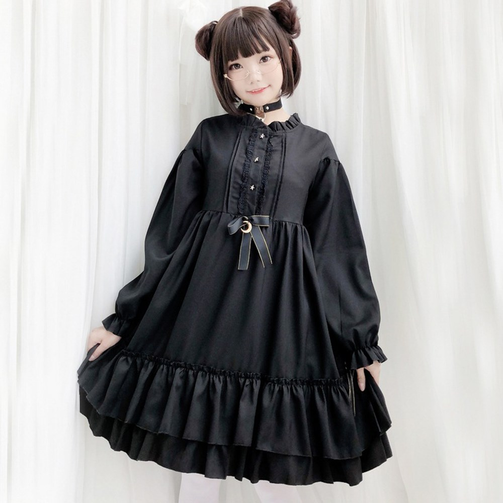 Long Thick Hair Extension Cosplay Harajuku Goth Style Hair Double Color Toupee Blackpink Wig Long Straight Hair Lolita