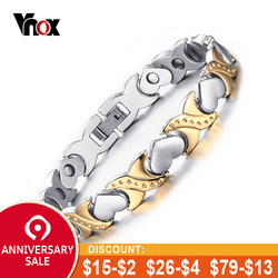 Hot sale healthy care bracelets & bangles for women jewelry  energy magnetic bracelet for women heart hand chain free shipping
