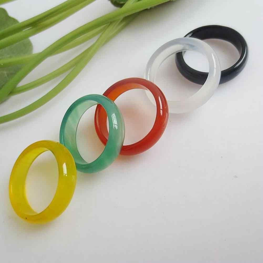 DreamBell 1 ชิ้น Unisex ผู้หญิงผู้ชายแหวนเครื่องประดับธรรมชาติป้องกันรังสี Retro แหวน