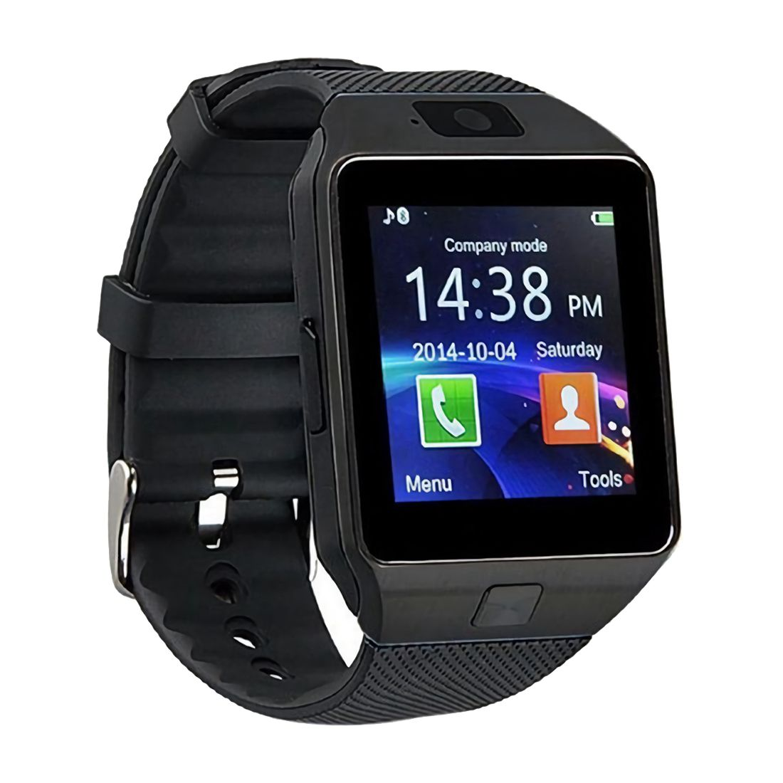 Sim-Card-Holder Phone Bluetooth-Watch Android for DZ09 TF Caller-Sms Sync HD