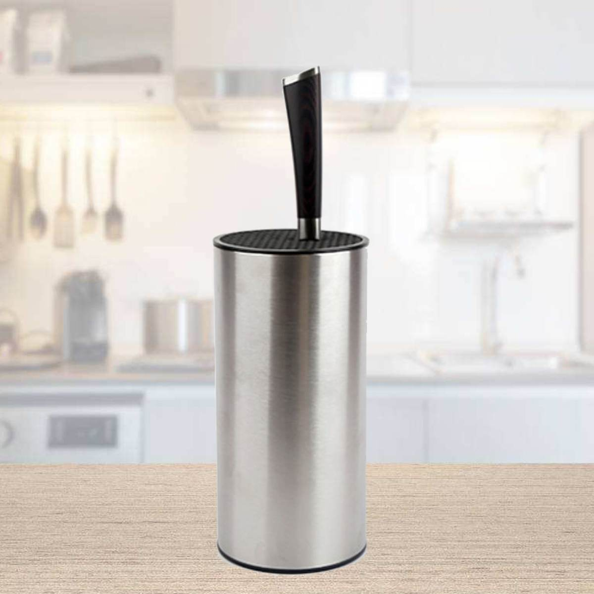 Freedom Kitchen Knife Stand Stainless Steel ABS Knife Block Knife Holder Fashion Outlook Kitchen Knive Partner Kitchenware