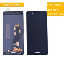 10Pcs/lot Original LCD 5.3 1440x2560 Display For NOKIA 8 Touch Screen Digitizer Assembly Replacement NOKIA8