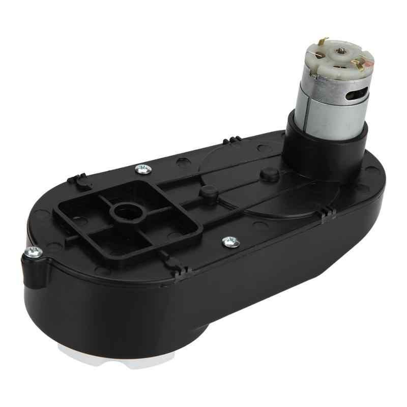 RS390 boîte de vitesses électrique 12V 12000-20000 tr/min voiture boîte de vitesses électrique boîte de vitesses cc 6V pour enfants voiture jouet