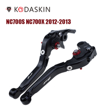 KODASKIN Folding Extendable Brake Clutch Levers for Honda CB599 CB600 HORNET 1998-2006