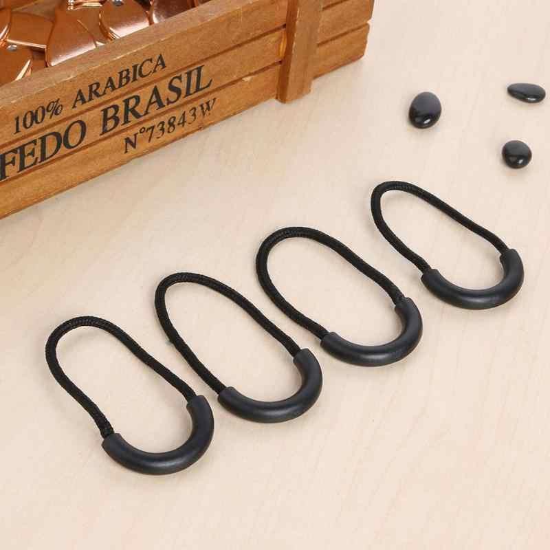 10 Buah/Pack Multifungsi EDC Camping Anti-Theft Zipper Ekor Tali Mudah Digunakan Outdoor Alat untuk Tas Pakaian 7 Warna