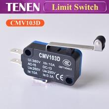 Мгновенный микро концевой выключатель CMV103D UE220V 0.3A с длинной ручкой Открытый концевой датчик для CO2 лазерной гравировки резки ЧПУ