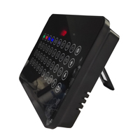Wireless calling system 2pcs K-32C display 50pcs K-H4-black-green button 50pcs K-SP menu holder