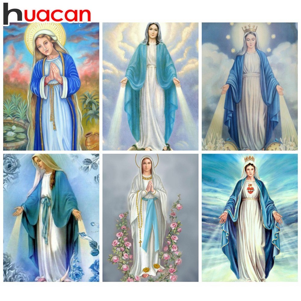 Huacan Diamond Embroidery Icon Diamond Painting Religion Full Square Picture Rhinestone Cross Stitch Mosaic Paintings Home DecorHuacan Diamond Embroidery Icon Diamond Painting Religion Full Square Picture Rhinestone Cross Stitch Mosaic Paintings Home Decor