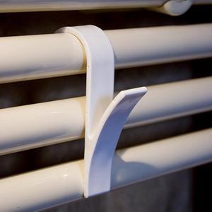 Image 3 - 6 adet ev mutfak duş kapısı havlu kancası plastik havlu askısı depolama organizatör