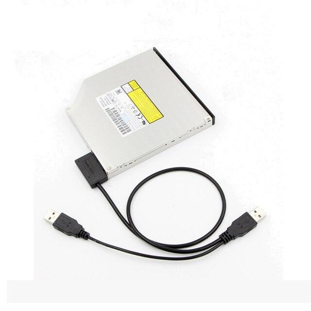 Adapter nagrywania bez sterownika CD HDD linii SATA do USB 3.0 SATA7 + 6 13 Pin kabel Sata dla