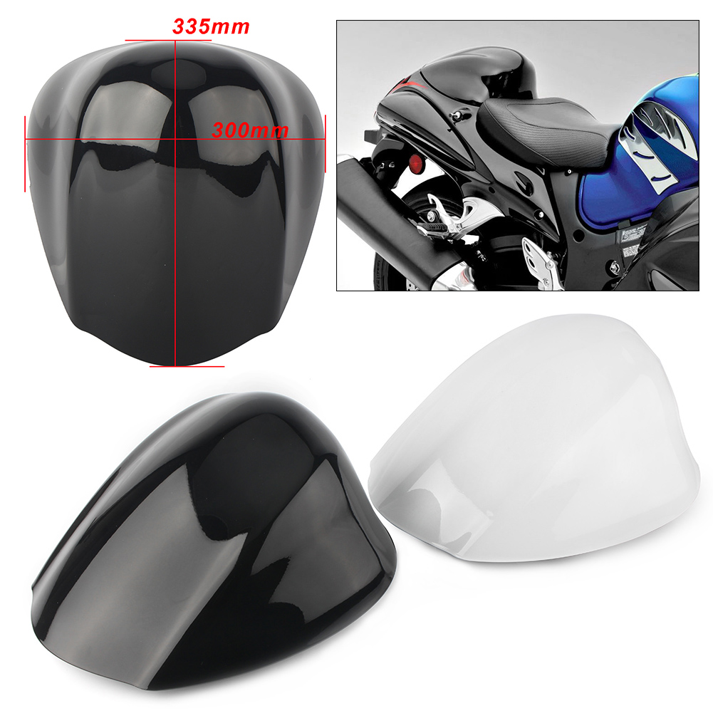 Motorcycle Rear Pillion Passenger Cowl Seat Back Cover Fairing Part For Suzuki GSX1300R Hayabusa 2008 2018
