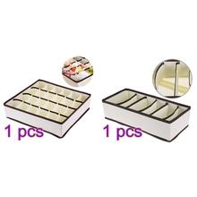 Konesky bielizna Organizer biustonoszy schowek szuflady organizery do szafy pudełka na bieliznę szalik skarpetki organizator darmowa wysyłka tanie tanio Włókniny tkaniny 13 2*6 1*3 5inch