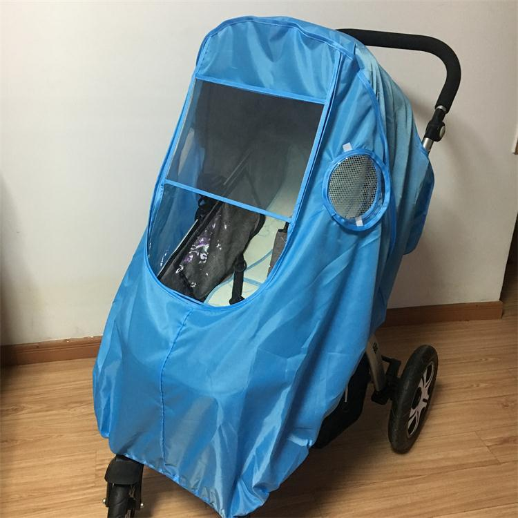 Windshield Baby Umbrella Car Raincoat Cover Warm Waterproof Rain Cover Winter Accessories for Stroller Wheelchair Accessories