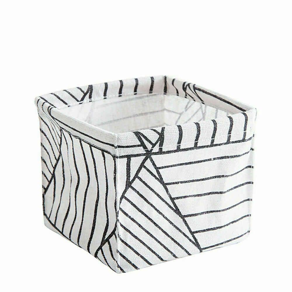 Cesta de lino de alta calidad 2019 cestas de almacenamiento