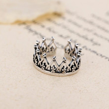 2019 New Ring Anel Masculino Anel Hot Sale 925 Sterling Imperial Crown Party Finger Ring For Women Original Fine Jewelry Gift boosbiy 2019 hot sale 52 styles stackable party finger ring for women original brand heart crown ring engagement jewelry