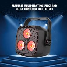 RGBW Stage Light LED DMX Party Light Spot Moving Head Lights Multi-lighting Effect Party Lamp