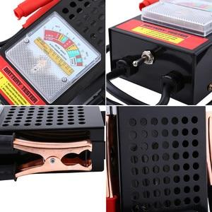 Image 3 - Тестер автомобильных аккумуляторов, 6 В 12 в, 100 Ампер, система зарядки, анализатор, инструмент проверки, Новинка