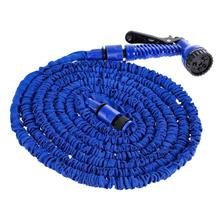 25FT-200FT Garden Hose Expandable Flexible Plastic Hoses Water Pipe with Spray Gun for Car Garden Watering