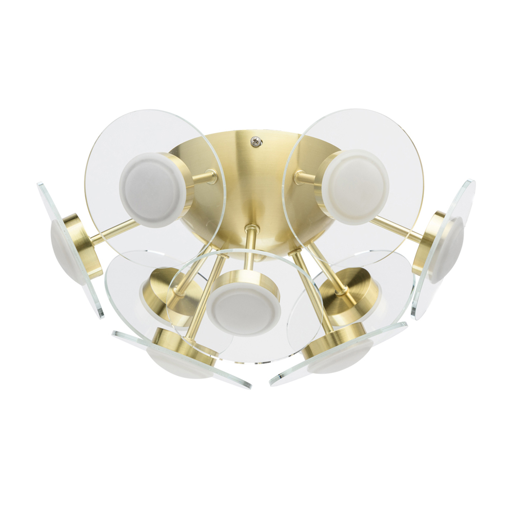 Ceiling Lights De-Markt 678012409 lighting chandeliers lamp