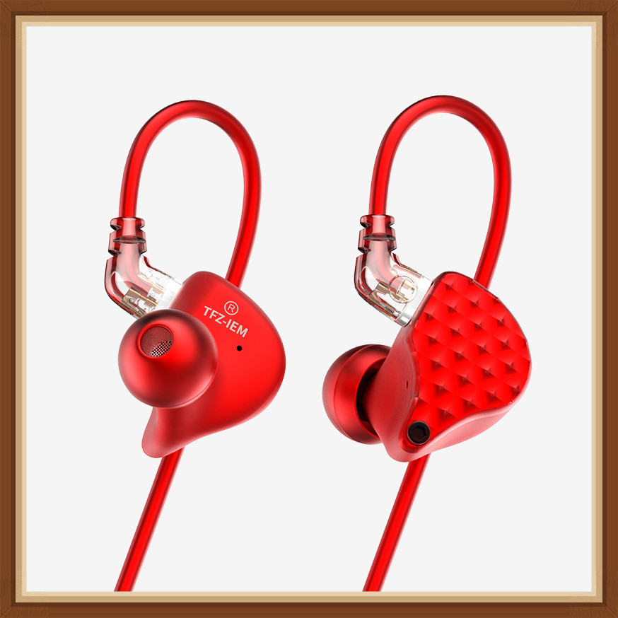 TFZ KING III Dynamic Driver Monitor In ear Earphones 2pin 0 78mm HIFI Music Detachable Earphone