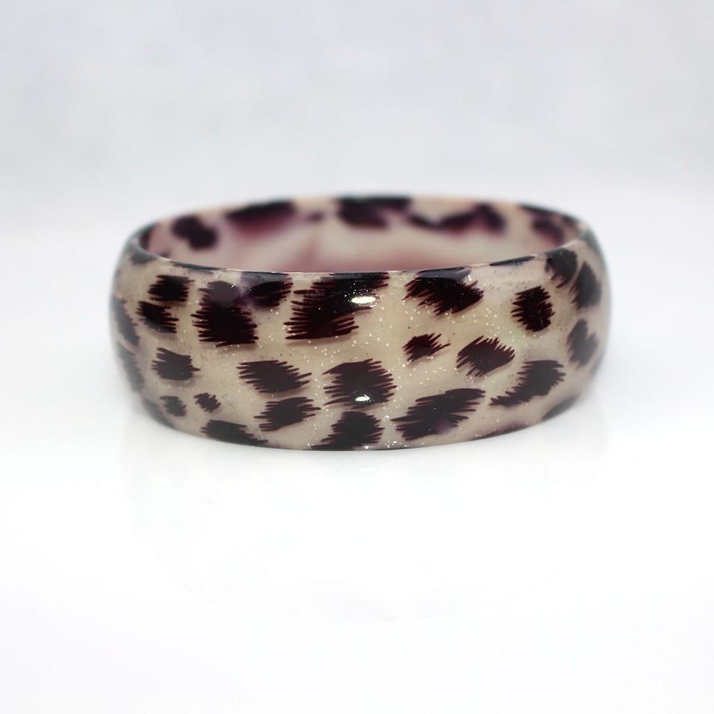 Eran Leopard Resin Bangle