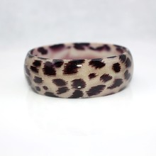 Eran Fashion Leopard Resin Bangle