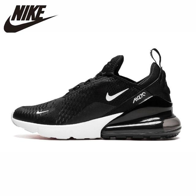 bc241f651fd6 Nike Air Max 270 Original nouveauté hommes course chaussures authentique  coussin respirant Sports de plein Air