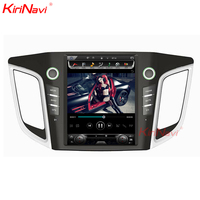 KiriNavi вертикальный автомобильный сенсорный экран в стиле Tesla стиль 10,4 дюймов android 6,0 автомобиль радио для hyundai IX25 Creta gps навигации Bluetooth 2014 +