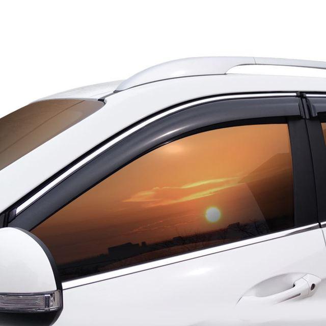 Auto Parts Decoration Accessories Decorative Window Visor Car Anti Rain Awnings Shelters FOR Skoda Octavia Rapid Superb Yeti