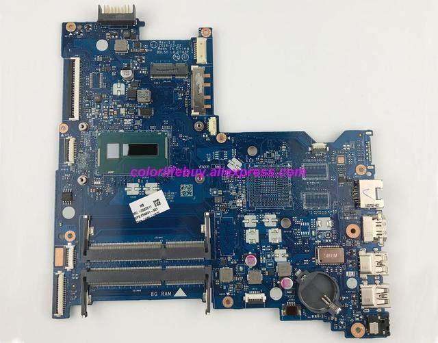 Genuine 854941 601 854941 001 UMA w i3 5005U CPU BDL50 LA D703P Laptop Motherboard Mainboard for HP 15 AY Series NoteBook PC