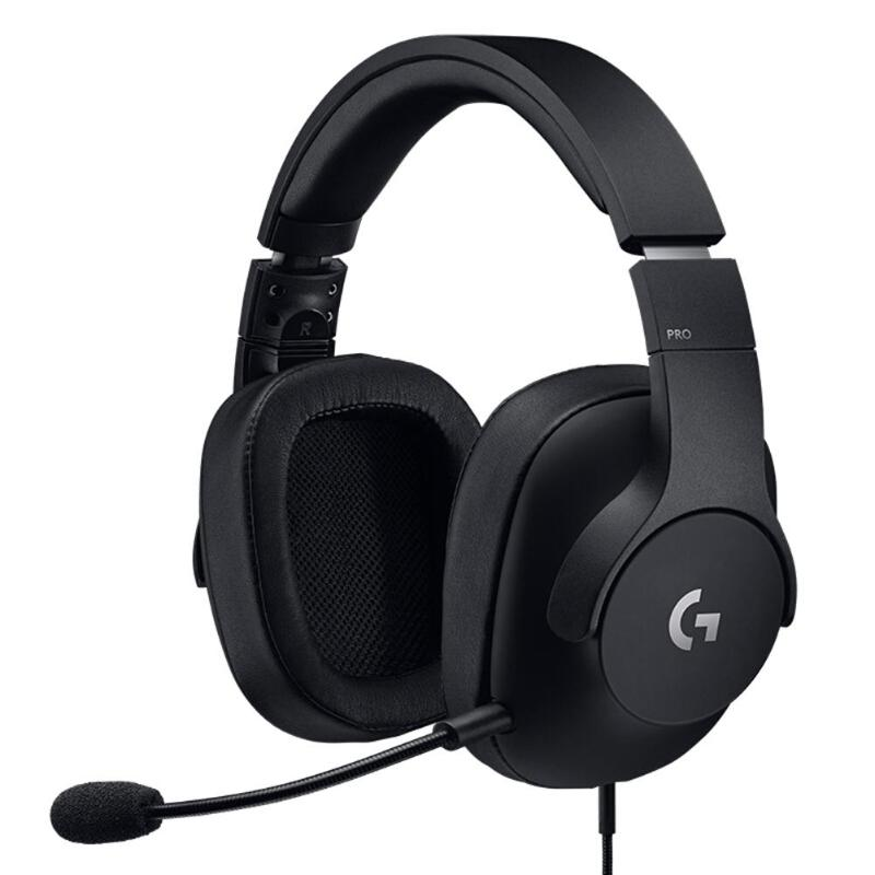 Logitech G PRO Gaming Headset with Detachable Mic for PC Xbox One PS4 NS Professional Games