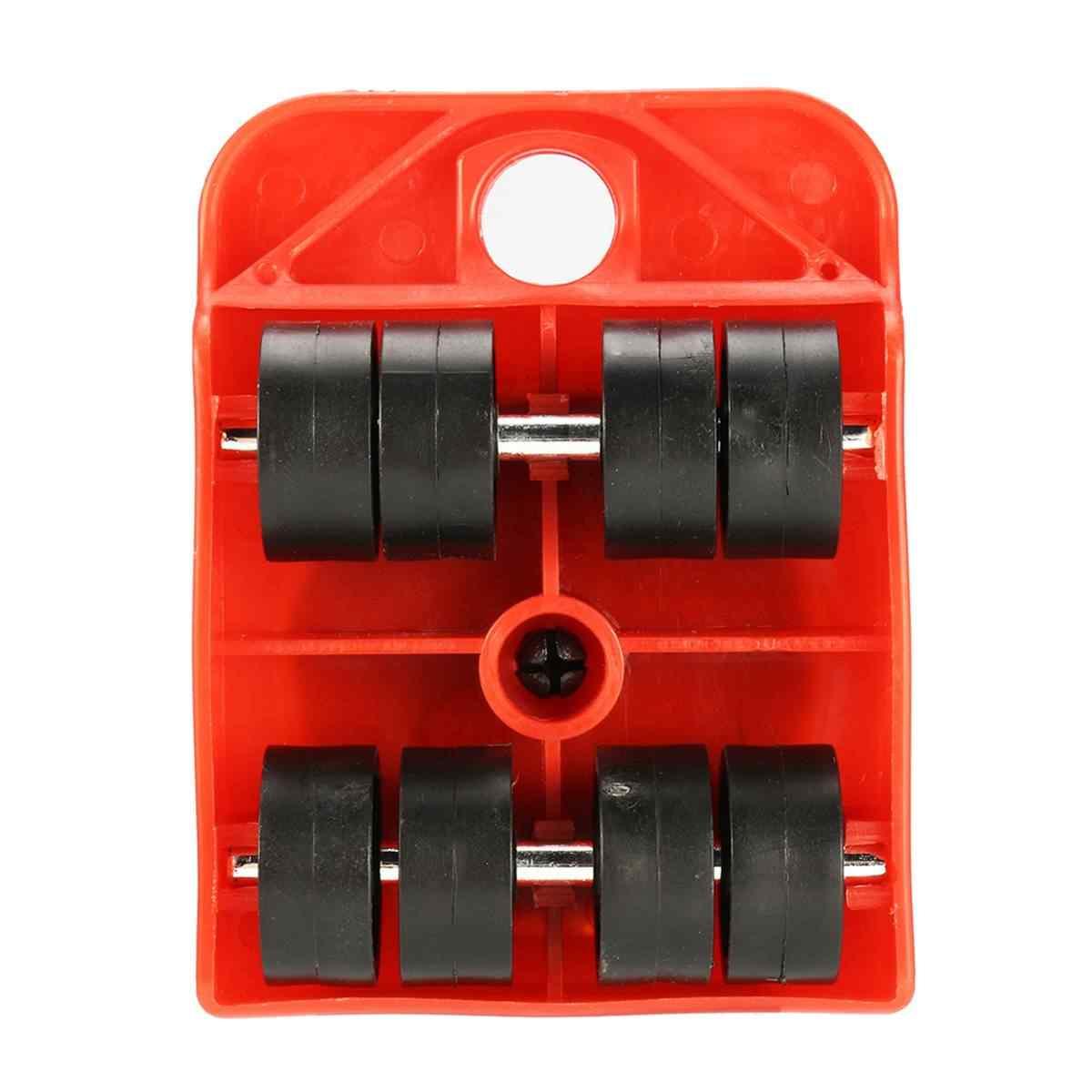 5 шт./компл. мебельный Подъемник Движется прямоугольник колеса Mover ползунки комплект дома движущиеся системы мебельный подъемник вес Перестановка Инструменты Новый