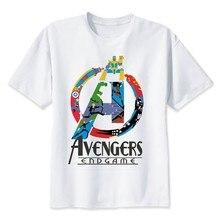 2019 Neweset Avengers Endgame T Shirt Men/women Ironman Captain America End Game Marvel T-shirt Superhero Custom TShirt Male